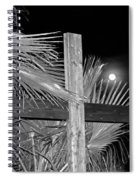 Good  Friday  In  Black  And  White Spiral Notebook