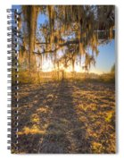 Good Morning At The Oak Spiral Notebook