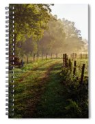 Good Morning Cades Cove II Spiral Notebook