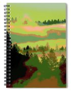 Good Morning In Spokane Spiral Notebook