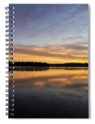 Good Morning Lake Springfield Spiral Notebook