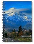 Good Morning Mount Hood Spiral Notebook
