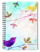 Good Morning Tweets Spiral Notebook