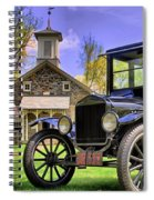 Good Old Days Spiral Notebook