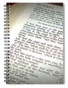 Good Tidings Spiral Notebook