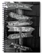 Good Times Ahead Spiral Notebook