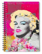 Goodbye Norma Jean  Spiral Notebook