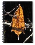 Goodbye To Autumn Spiral Notebook
