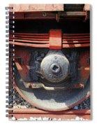 Goods Wagon Wheel Spiral Notebook