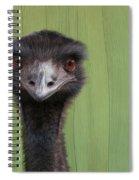 Goofing Around Emu Spiral Notebook