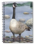 Goose Spiral Notebook