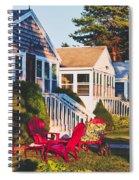 Goose Creek Beach Cottages Spiral Notebook