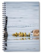 Goose Family Spiral Notebook