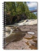 Gooseberry Fifth Falls 9 Spiral Notebook