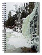 Gooseberry Frozen Falls Spiral Notebook