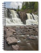 Gooseberry Middle Falls 24 Spiral Notebook