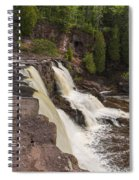 Gooseberry Middle Falls 26 Spiral Notebook