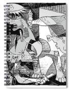 Gop Guernica Spiral Notebook
