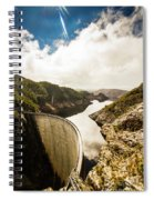 Gordon Dam Tasmania  Spiral Notebook