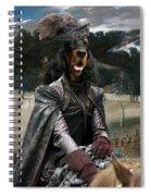 Gordon Setter Art Canvas Print - Philip Iv Hunting Wild Boar  Spiral Notebook