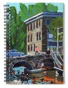Gore Street Bridge Spiral Notebook