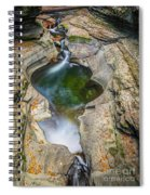 Gorge Trail In Autumn Watkins Glen Spiral Notebook