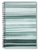 Gorgeous Grays Abstract Interior Decor I Spiral Notebook