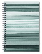 Gorgeous Grays Abstract Interior Decor II Spiral Notebook