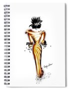 Gorgeously Gold Spiral Notebook