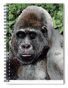 Gorilla My Dreams Spiral Notebook