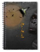 Gorillas Spiral Notebook