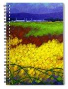 Gorse - County Wicklow - Ireland Spiral Notebook