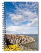 Gorse At Cullernose Point Spiral Notebook
