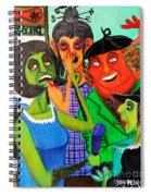 Gossips At The Greengrocer's Spiral Notebook