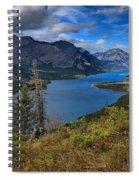 Goat Haunt Pine Tree Panorama Spiral Notebook