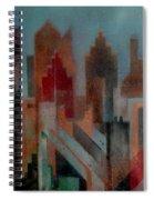 Gothem City Spiral Notebook