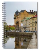 Gothenburg Canal And Park Spiral Notebook
