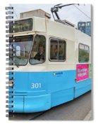 Gothenburg City Tram Spiral Notebook