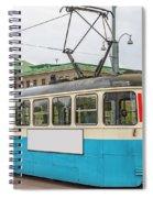 Gothenburg Tram Car Spiral Notebook