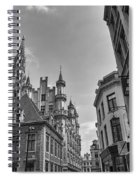 Gothic And Modern In Brussels Spiral Notebook