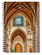 Gothic Arches - Holy Name Cathedral - Chicago Spiral Notebook