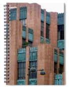Gothic Architecture In Los Angeles Spiral Notebook