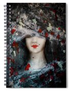 Gothic Beauty Spiral Notebook