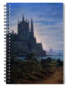 Gothic Church On A Rock Spiral Notebook