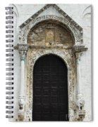 Gothic Entrance Spiral Notebook