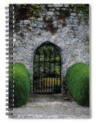 Gothic Entrance Gate, Walled Garden Spiral Notebook