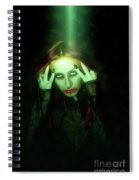 Gothic Female Model Spiral Notebook