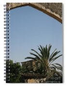 Gothic Gate Cyprus Spiral Notebook