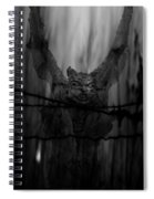 Gothic Guardian Bw Spiral Notebook