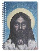 Gothic Jesus Spiral Notebook
